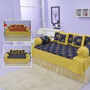 100% Cotton Gold Print Diwan Set - Pick Any 1