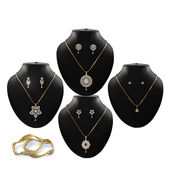 12 Pcs American Diamond Jewellery Collection