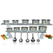 15 Pcs Engraved Cook & Serve Set + Free 5 Pcs Kitchen Tool