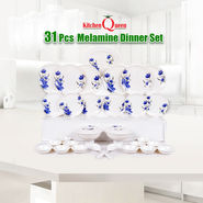 31 Pcs Melamine Dinner Set