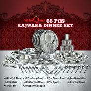 66 Pcs Rajwara Dinner Set