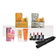 Astaberry Gold & Silver Facial Kit + Free Hair Straightener