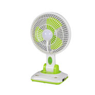 Irich Rechargeable 2 in 1 Fan with LED Light