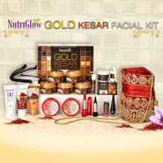 Nutriglow Gold Kesar Facial Kit