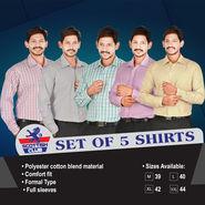 Scottish Club Set of 5 Shirts