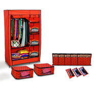Royal 2 Door Almirah with Free 10 Pcs Organizer Set