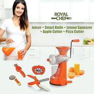 Royal Chef Juicer + Smart Knife + 3 Free Kitchen Tools