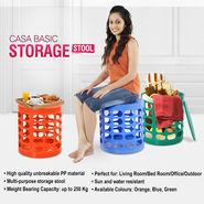 Casa Basic Storage Stool