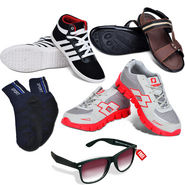 Ultimate Footwear Combo + Free Foldable Sunglasses