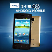 ZEN Shine 4G Android Mobile