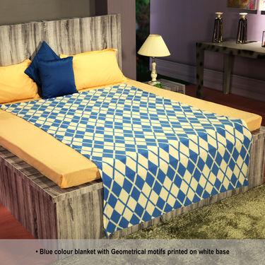 Set of 5 Fleeciano Blankets - Italian Design (5FB4)