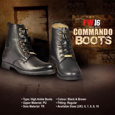 FW16 Commando Boots