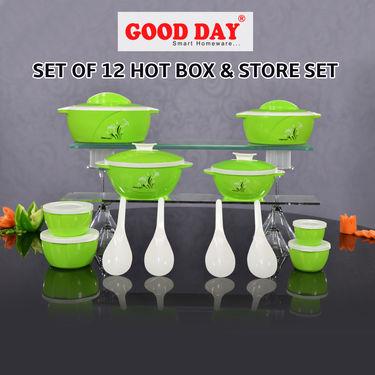 Set of 12 Hot Box & Store Set