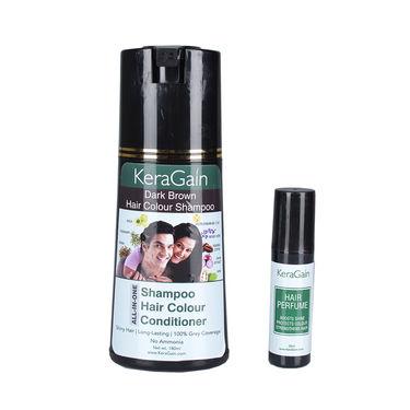 KeraGain Miracle Hair Color Shampoo & 10-in-1 Miracle Hair Spray