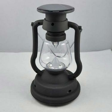 Solar LED Lantern with Mechanical + Battery Charging