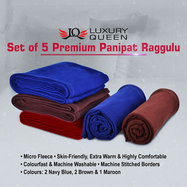 Set of 5 Premium Panipat Raggulu