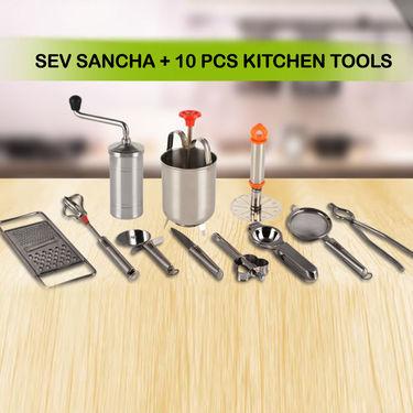 Sev Sancha + 10 Pcs Kitchen Tools