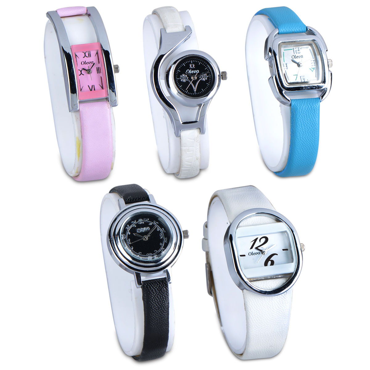 53e4516680 Buy Set of 5 Ladies Watch Combo Online at Best Price in India on Naaptol.com